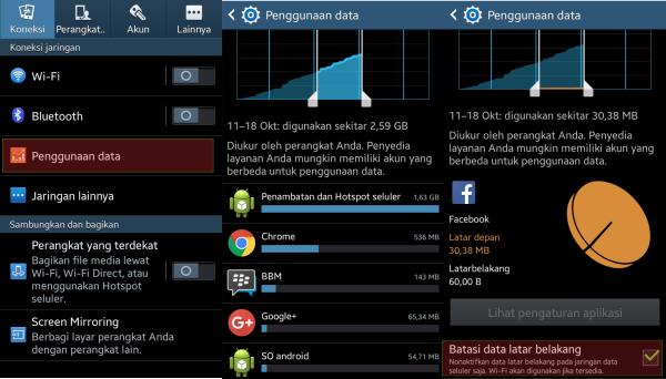 Batasi Penggunaan Data Pada Aplikasi Di Background