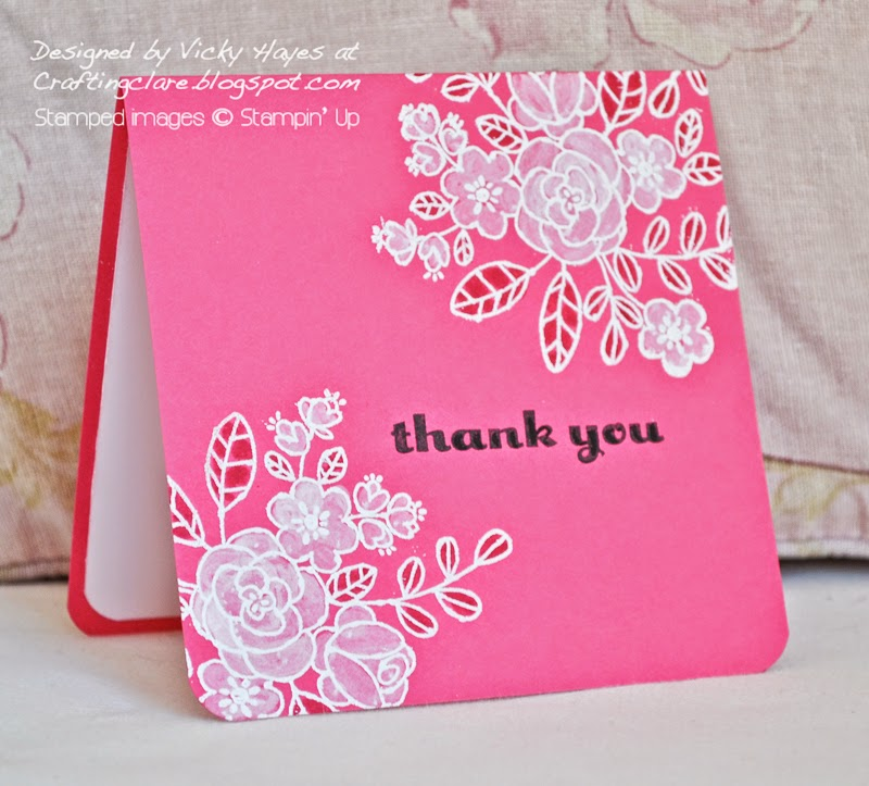 buy So Very Grateful from Stampin up online from Vicky at Crafting Clares paper moments