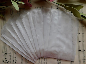 FOR SALE: Small Glassine Bags - Set of 15