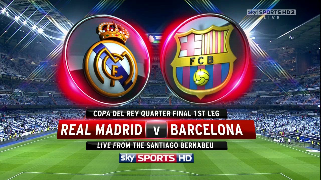 Del Rey Full Match     Real Madrid V Barcelona     18 January 2012