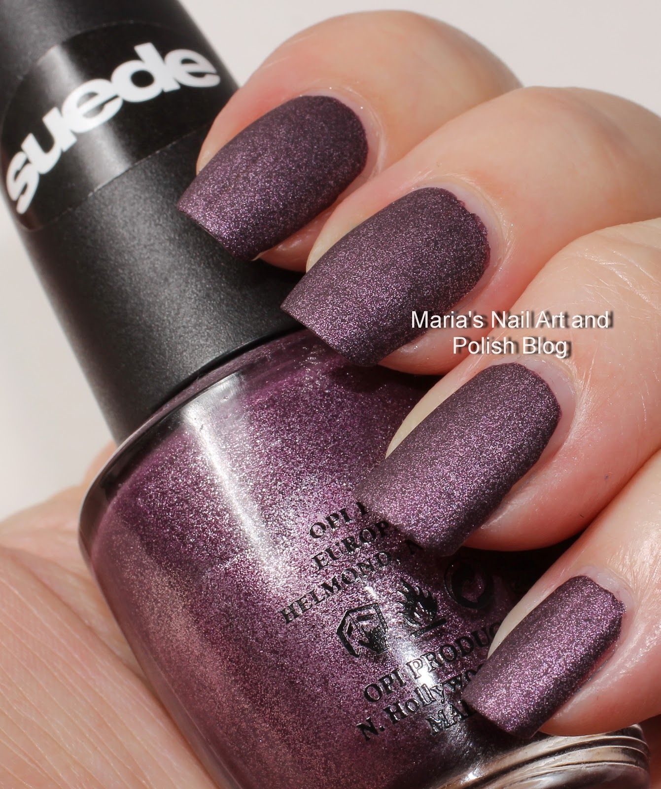 Marias Nail Art and Polish Blog: OPI Lincoln Park After Dark Suede ...