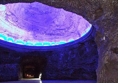 cupula CATEDRAL DE SAL DE ZIPAQUIRÁ