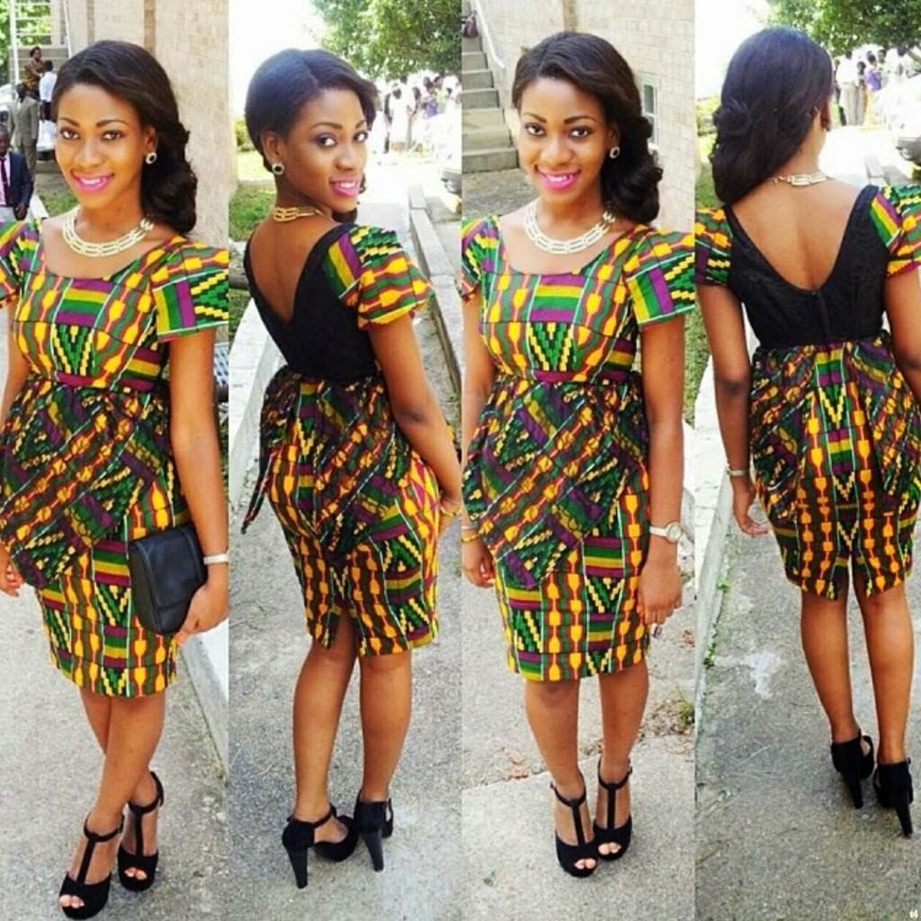 Nigerian fashion styles for women - Here Are Pictures Of Some Elegant Looking Ladies Who Rocked Different Styles With Ankara Fabric Go Ladies