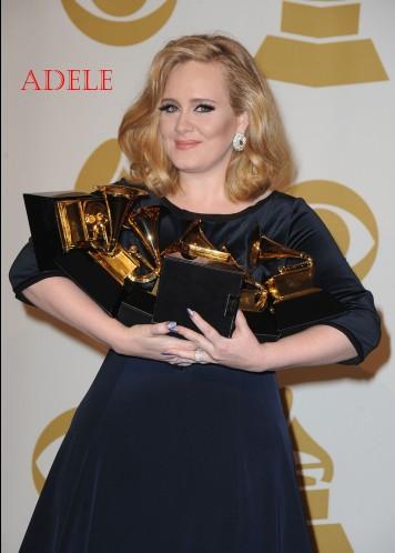 [Adele] Sukses Sabet 6 Grammy Awards