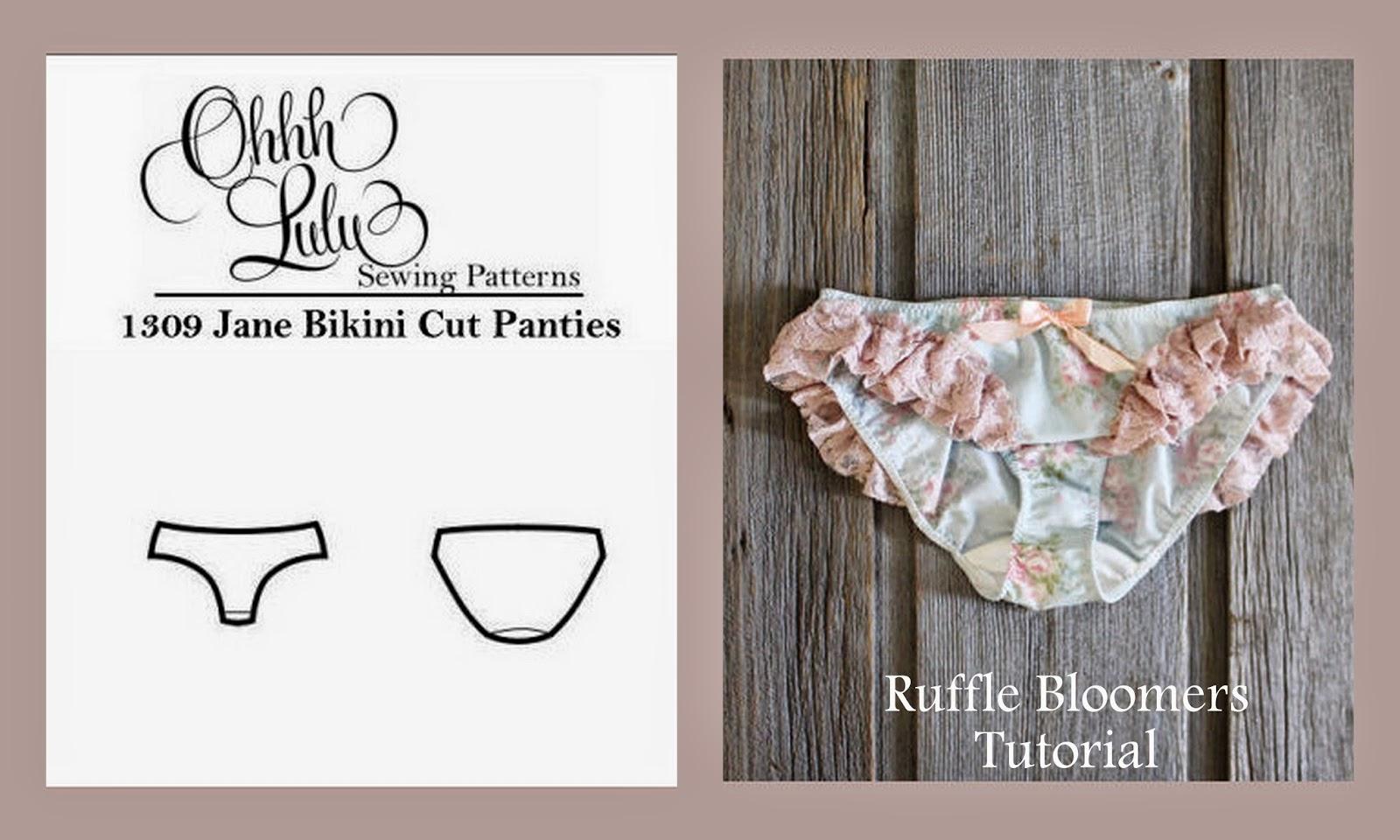 Ohhh Lulu...: Ohhh Lulu Pattern Hacks: Jane Bikini Cut Panties to ...