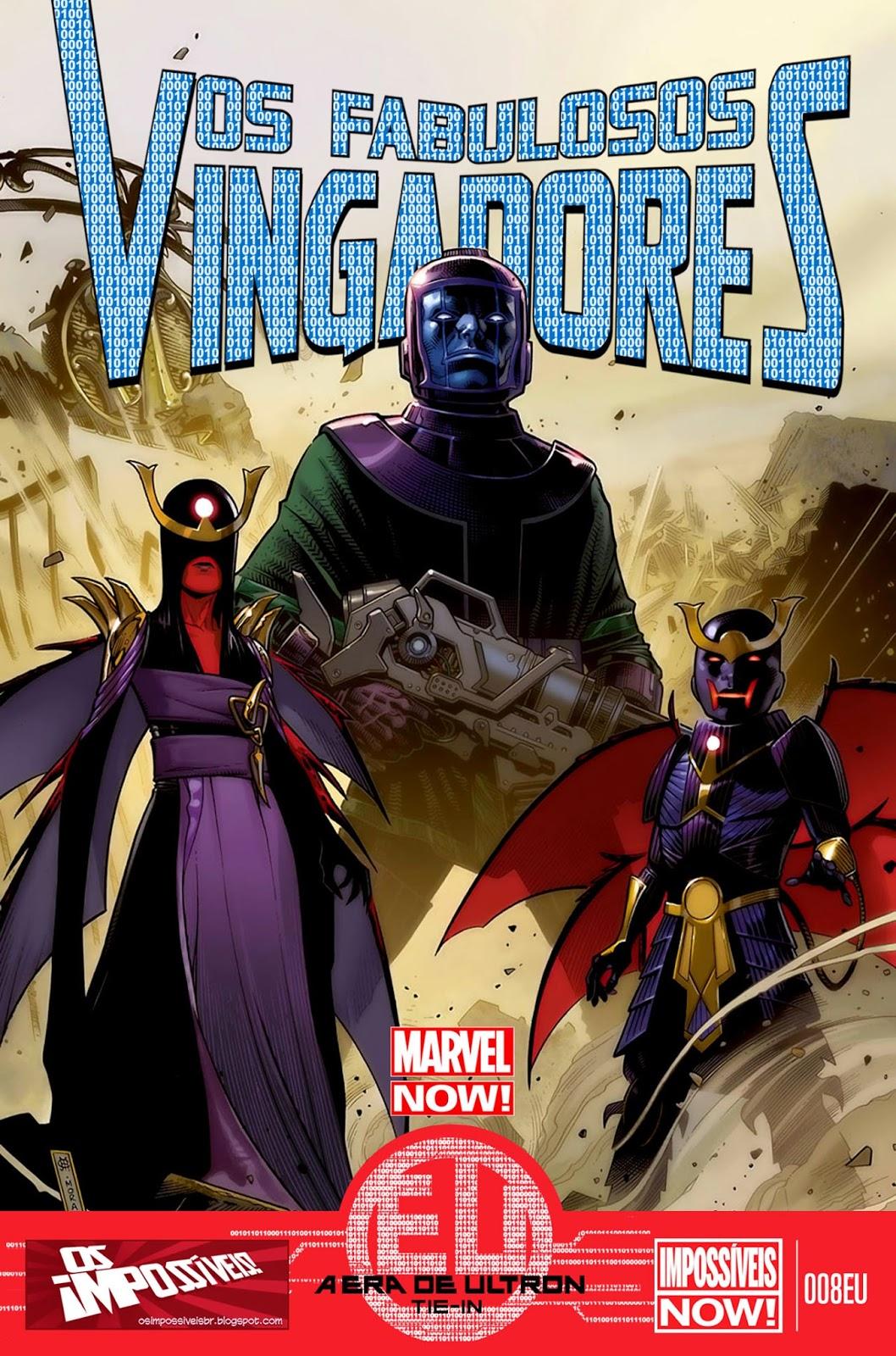 Nova Marvel! Os Fabulosos Vingadores #8 EU (Opcional)