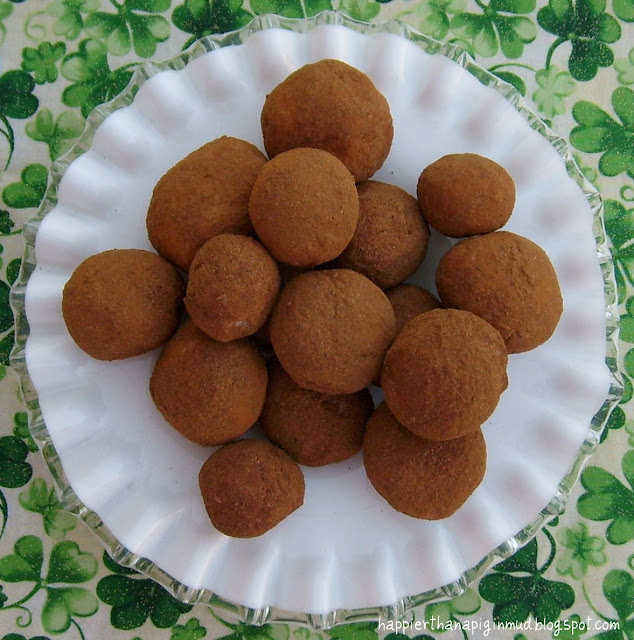 Happier Than A Pig In Mud: Irish Potatoes - Coconut/Cream Cheese Candy