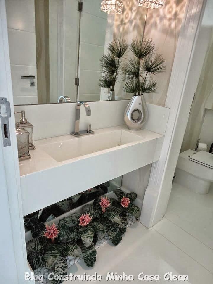 jardim vertical no banheiro ? Doitri.com