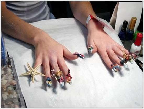 beauty nail art amazing