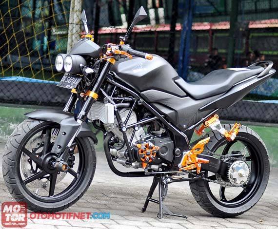 Modifikasi Honda CB150R Streetfire Super Kren [FOTO] title=