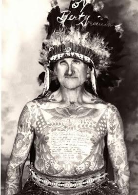 tattoo antiga índio