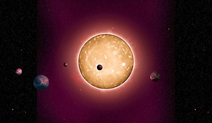 Para Astronom Berhasil Temukan Replika Tata Surya Kita