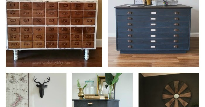 Nice 12 Beautiful And Unique Storage Cabinets | Little House Of Four   Creating  A Beautiful Home, One Thrifty Project At A Time.: 12 Beautiful And Unique  Storage ...