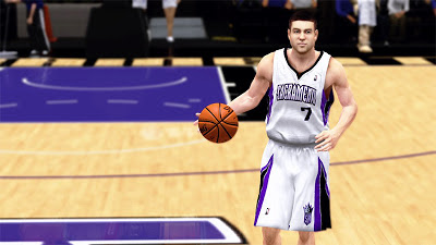 NBA 2K13 Jimmer Fredette Cyberface 2K Patch