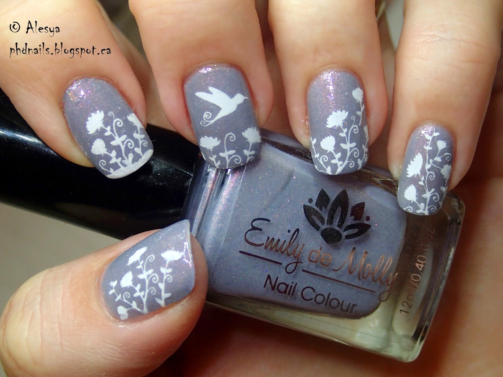 Phd Nails Hummingbird Emily De Molly Lace Man