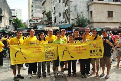 Buddhist for Bersih 3.0:  A Buddhist Community Responds to the call for Electoral Reforms