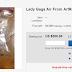 l'aria respirata da lady gaga è in vendita su ebay