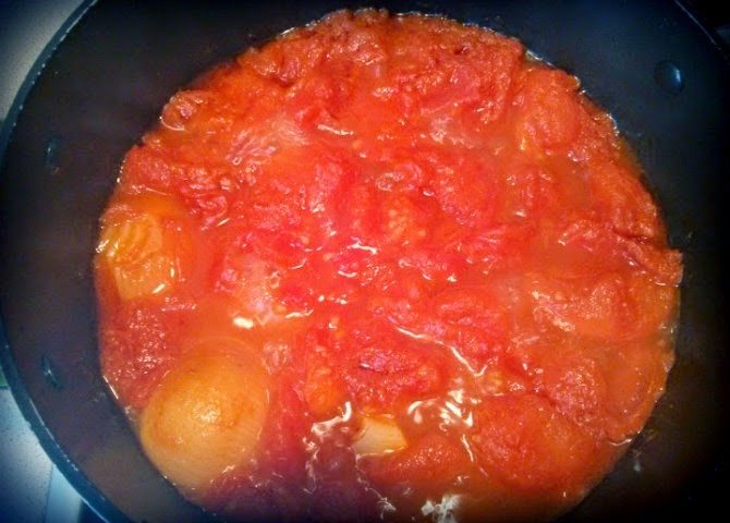 tomato soup cooking
