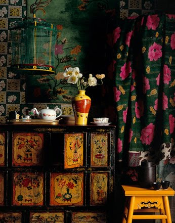 My favorite Gypsy style interiors are the ones with a definite old ...