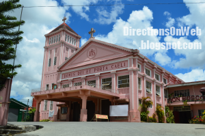 Don Bosco Church in Baguio can be reached by a jeepney ride with 'Baguio Plaza-Trancoville' sign