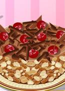 Шоколадный торт - Онлайн игра для девочек