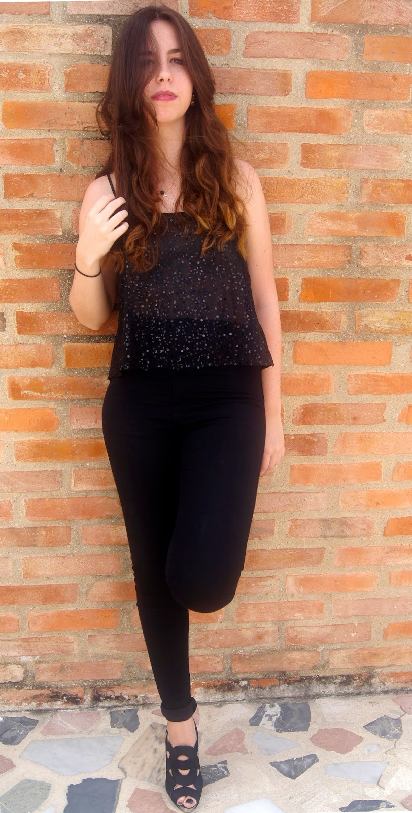 hey vicky hey, victoria suarez, blogger, fashion, total look, black, all black, negro