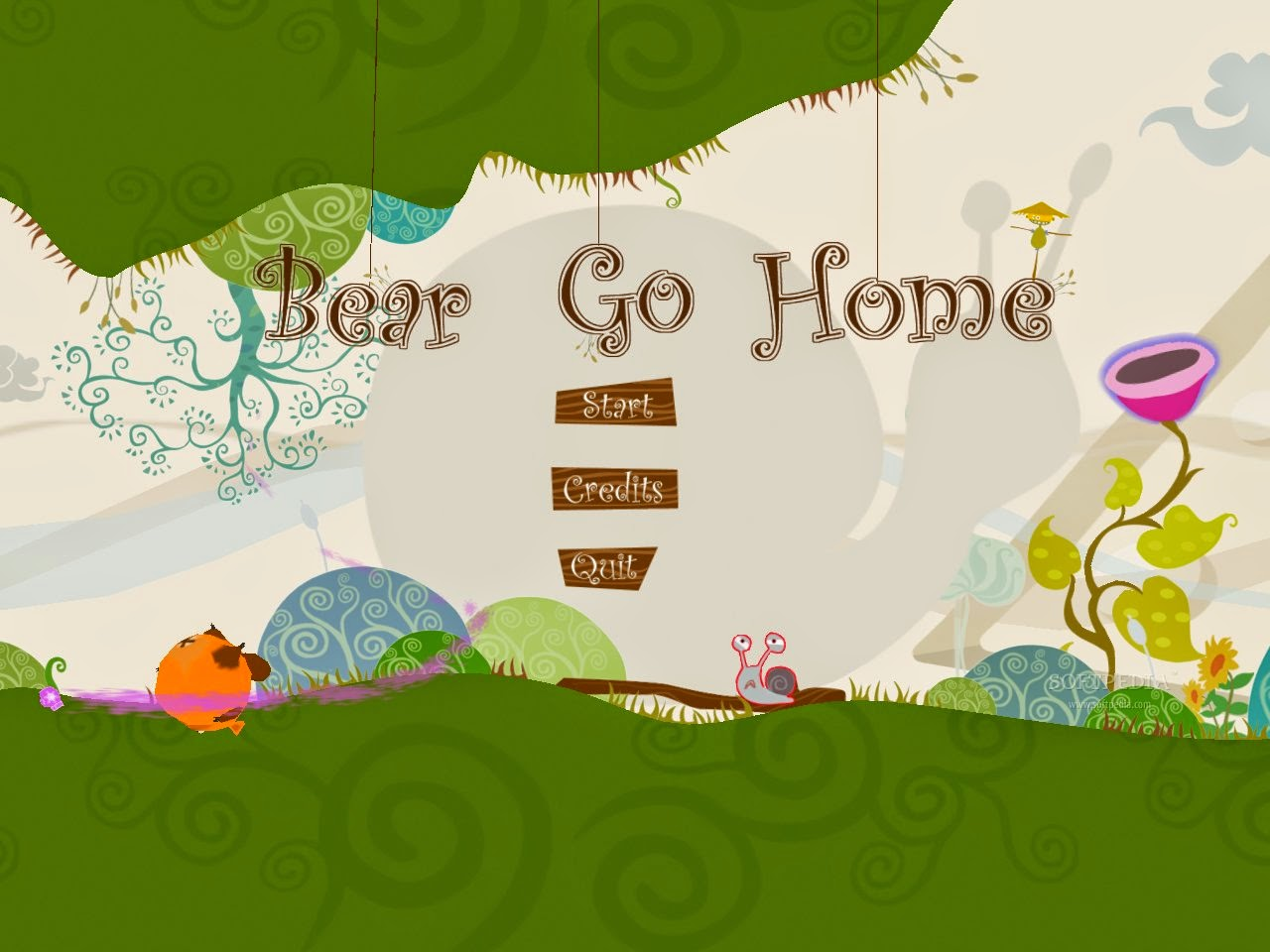 Game Anak - Anak Bear Go Home
