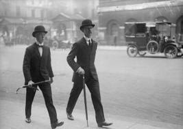 Derby Bowler hats on English Bankers, The Hat House NY