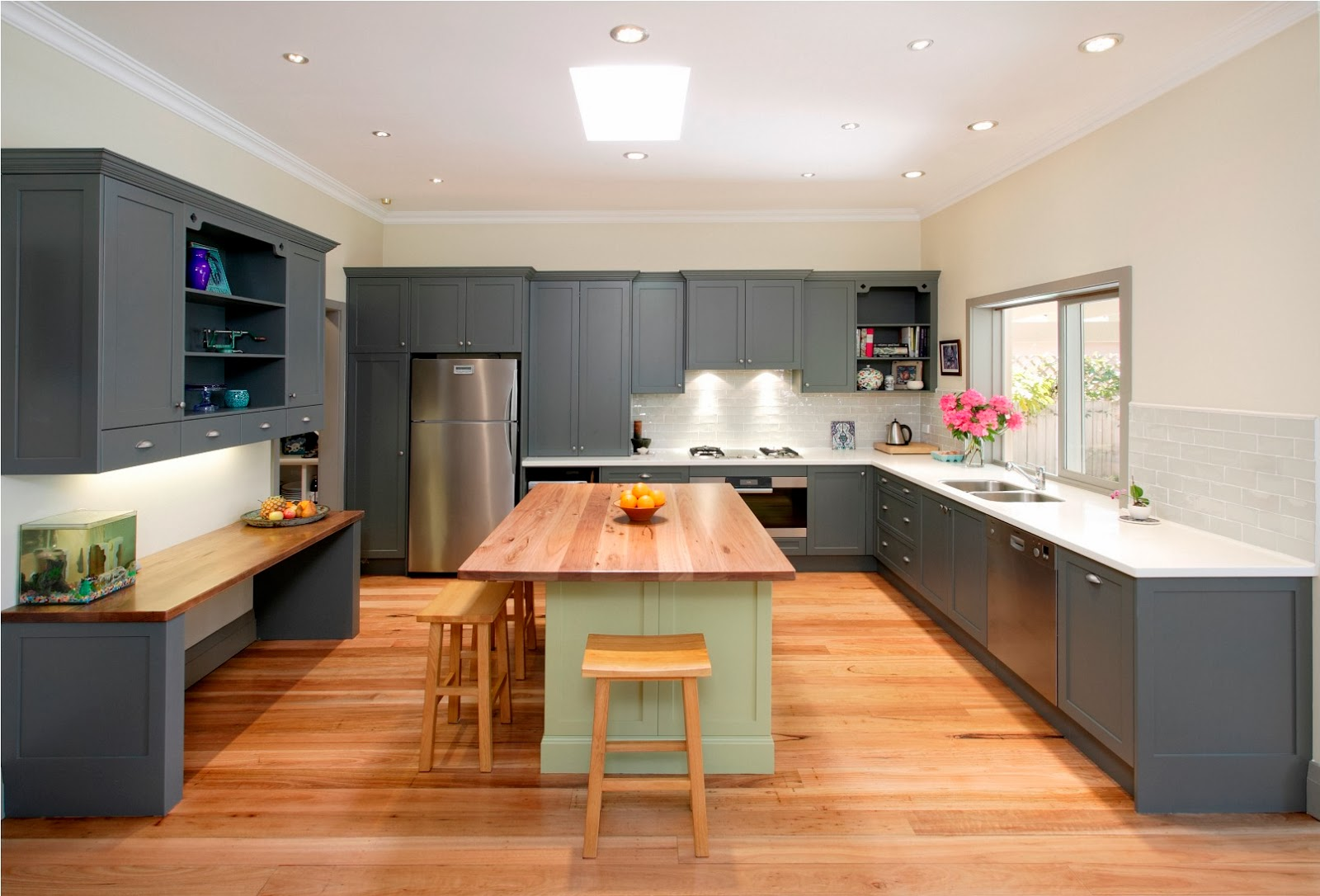 Fabulous Idea for Natural Modern Kitchen Designs Interior