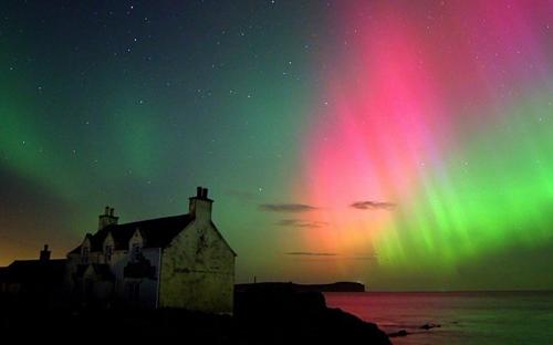 北極光 極光 Aurora Northern Light