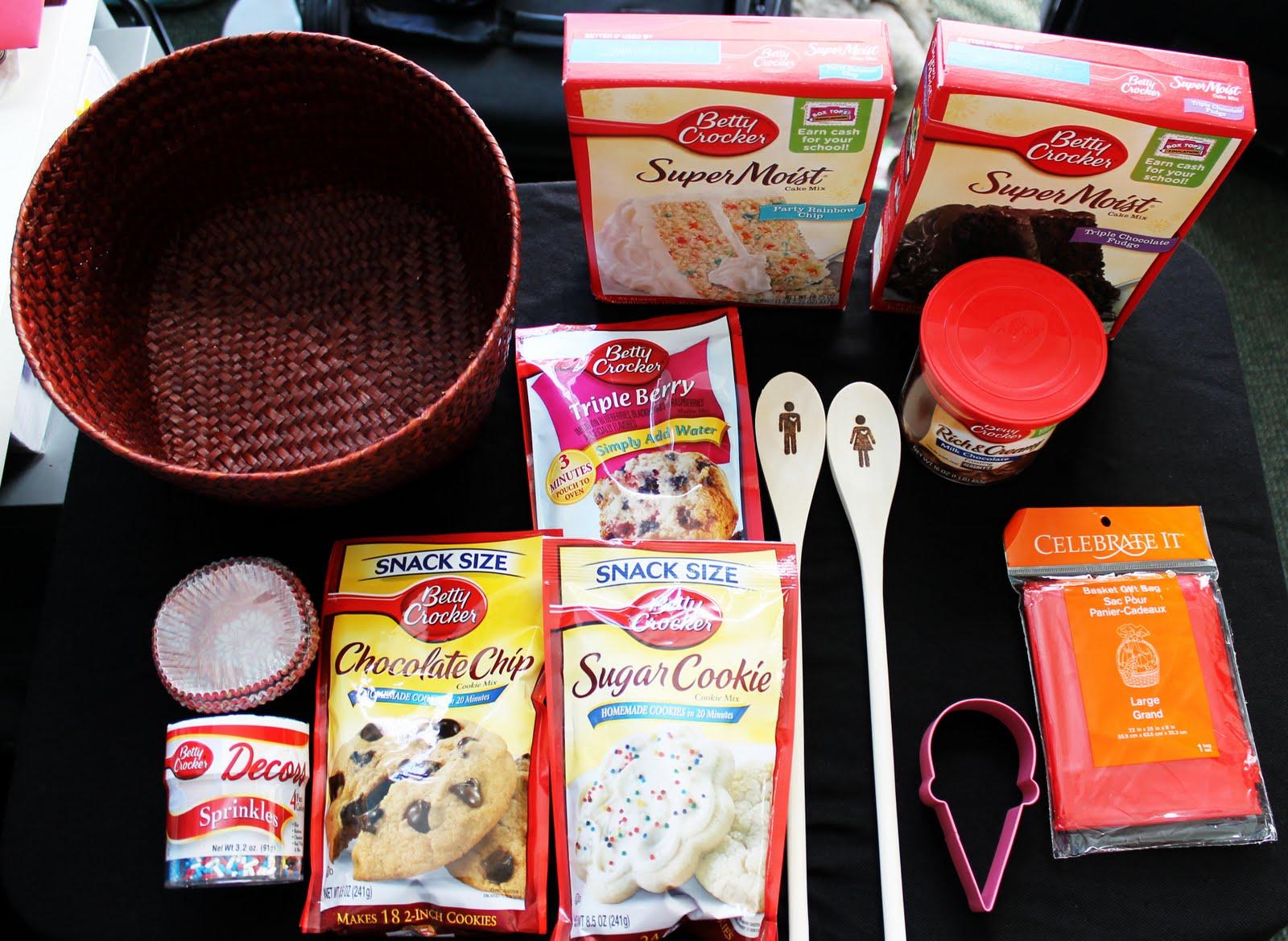 Tiffzippy. . . . just zipping through: DIY: Baking Gift Basket