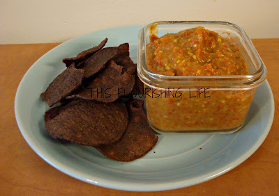 Roasted Red Pepper SalsaMole