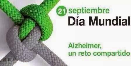 21 de septiembre del 2014, mal de Alzheimer