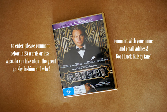 Roadshow Entertainment The Great Gatsby DVD Giveaway