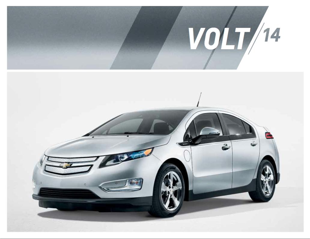 Kool Chevrolet 2014 Chevrolet Volt Brochure