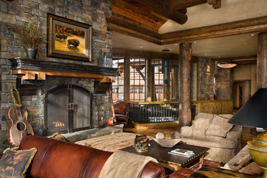 Rustic interior design ideas dream house experience for Rustic style interior