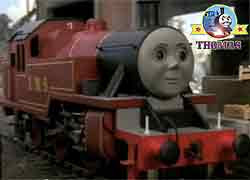 Thomas tank train character Arthur the big tank engine London Midland and Scottish Ivatt Class 2 LMS