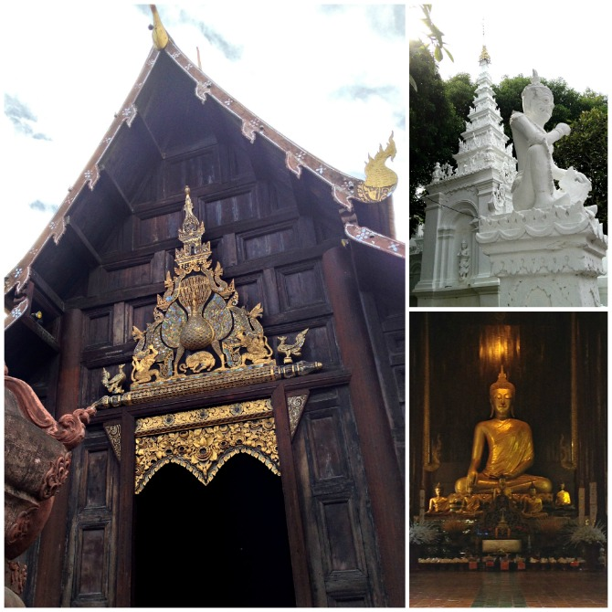 Elaborate Temples in Chiang Mai