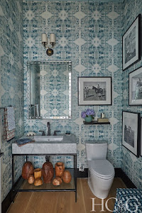 Thanks For Visiting Our Powder Room at Holiday House Hamptons Showhouse in Watermill This Summer