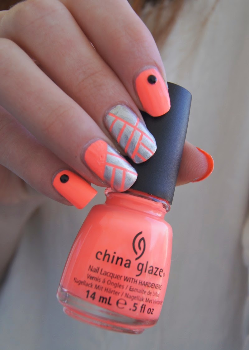 china glaze flip flop fantasy tutoriel stripping tape