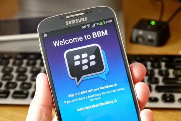 Cara Memindahkan Kontak PIN BBM ke Android