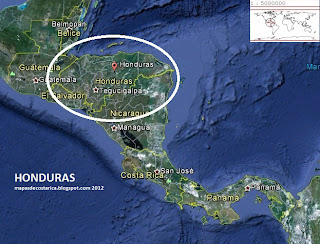 HONDURAS GOOGLE EARTH