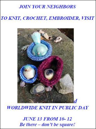 6-13 WorldWide Knit In Public Day