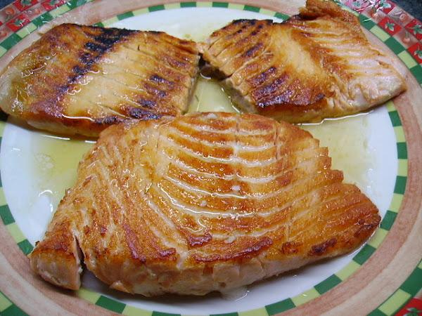 Salmon a la plancha cocinar en casa es - Cocinar a la plancha ...