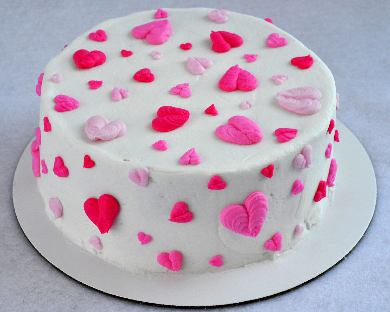 Beki Cooks Cake Blog Valentines Buttercream Heart Cake