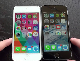 iPhone 5 Blackmarket hitam putih