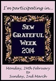 Sew Grateful Week 2014
