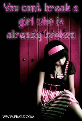 Hurted In Love Quotes From Girl With Wallpaper ~ Poetry Lovers