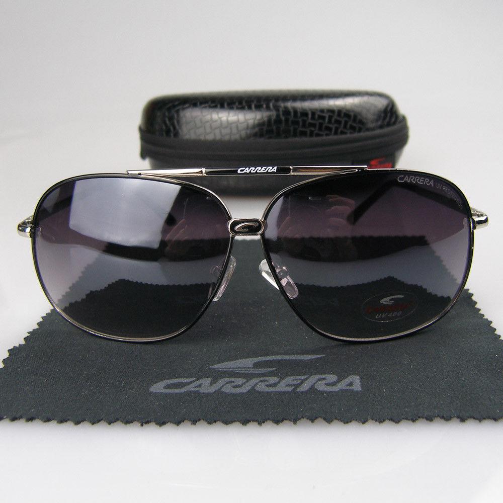 2901d303897be Tatushka Store  Óculos de sol Carrera metal pretos ou castanhos ...
