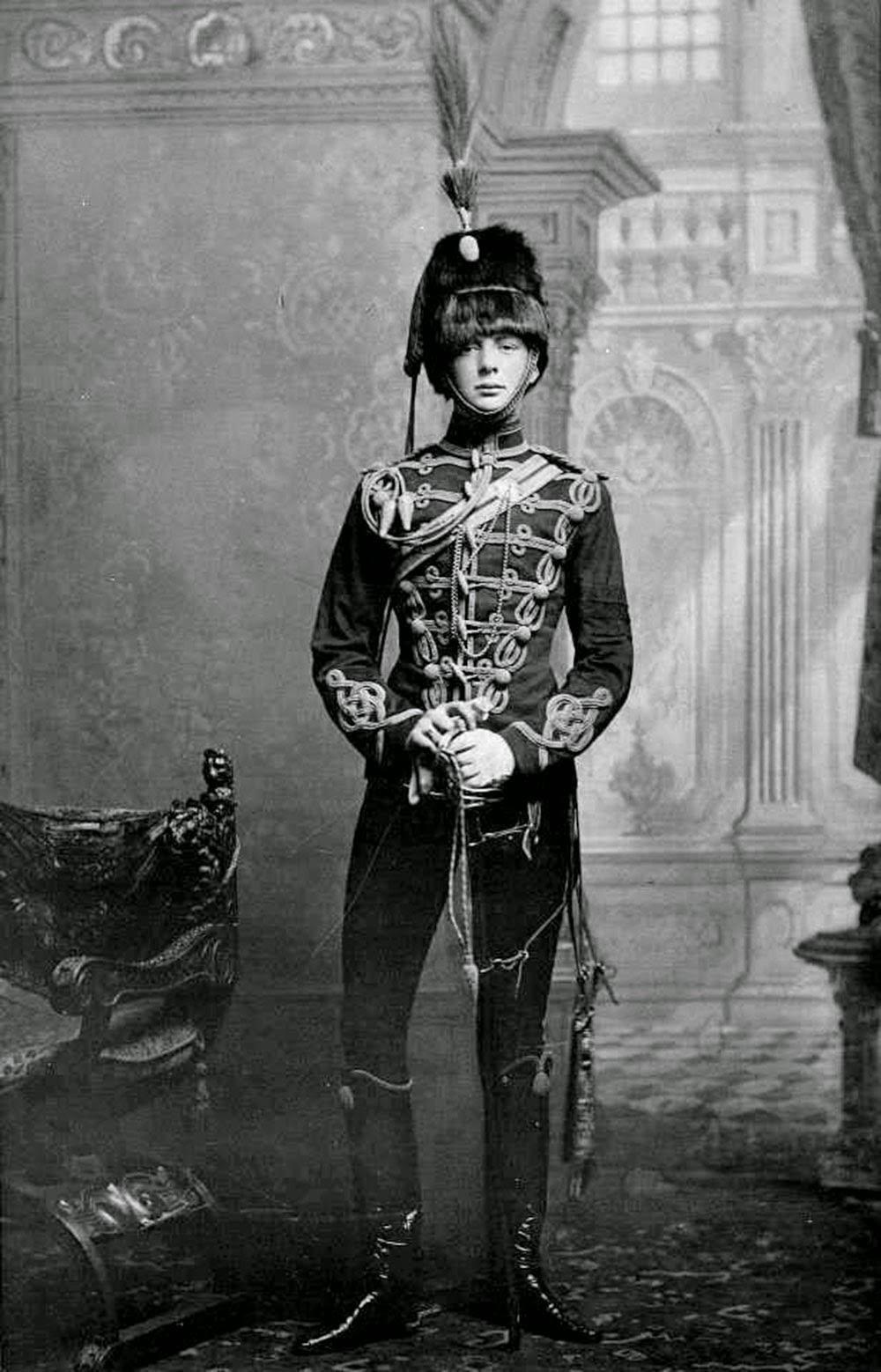 Winston Churchill de joven